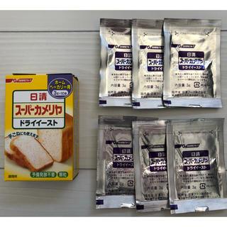 ニッシンセイフン(日清製粉)のドライイースト 6包(調味料)