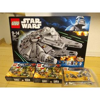 レゴ(Lego)のレゴ ミレニアムファルコンなど スターウォーズ(模型/プラモデル)