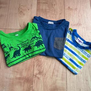 シマムラ(しまむら)の半袖Tシャツ 90 3枚セット(Tシャツ/カットソー)
