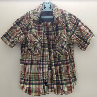 GAP - GAP キッズ チェックシャツ L 10