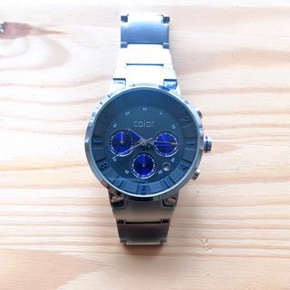 カラー(Color)の腕時計【color 】(電池切れ)(腕時計(アナログ))