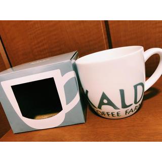 カルディ(KALDI)のKALDI マグカップ オリジナルデザイン(グラス/カップ)