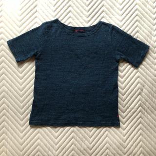 フォーティーファイブアールピーエム(45rpm)の45rpm キッズ サイズ2 インディゴTシャツ(Tシャツ/カットソー)