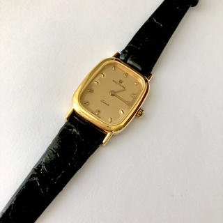 ウォルサム(Waltham)のSWISS製 WALTHAM レディースクォーツ腕時計 電池あり(腕時計)
