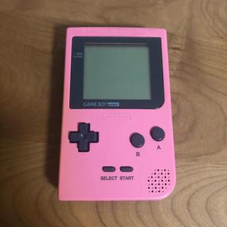 ゲームボーイ - ゲームボーイポケット ピンク