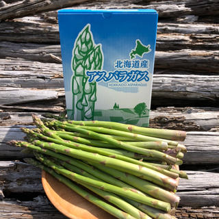 北海道産 朝採り 新鮮アスパラ M L 2L混合 1kg(野菜)