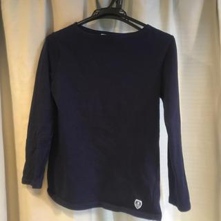 オーシバル(ORCIVAL)のオーチバル 長Tシャツ 紺(Tシャツ/カットソー(七分/長袖))