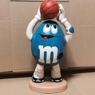 m&m ディスペンサー おもちゃ青 バスケットボール