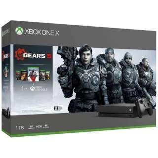 Xbox One X  (GEARS 5 同梱版) 1TB 新品未開封