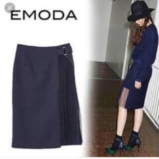エモダ(EMODA)のエモダ サイドシースルースカート(ひざ丈スカート)