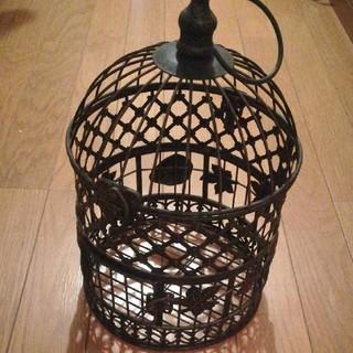 ミナペルホネン(mina perhonen)のアンティーク 鳥かごバスケット フラワーバスケット(バスケット/かご)