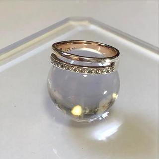 エテ(ete)のete  エテ silver ハーフエタニティ ダブル リング(リング(指輪))