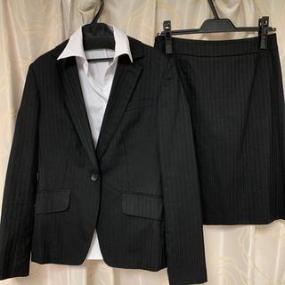 アオヤマ(青山)のエヌライン スーツ スカート3点セット(スーツ)