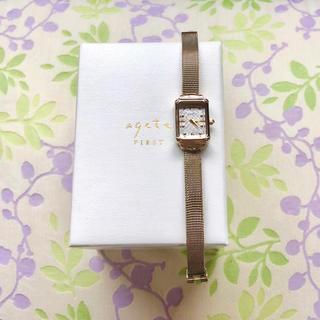 アガット(agete)のagete   ㉛ 腕時計・稼動品✨(腕時計)