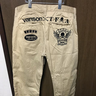 VANSON - バンソン チノパン 武装戦線 TFOA【今だけおまけ付き!】
