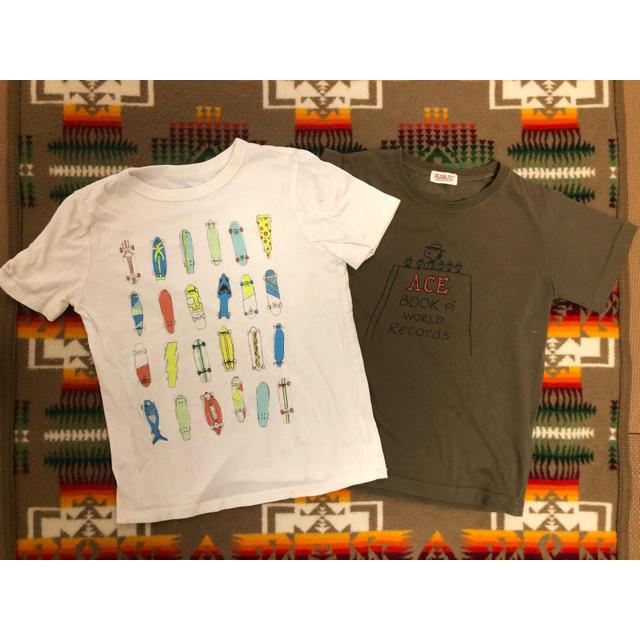 GAP(ギャップ)の男の子Tシャツセット SIZE:120 キッズ/ベビー/マタニティのキッズ服男の子用(90cm~)(Tシャツ/カットソー)の商品写真