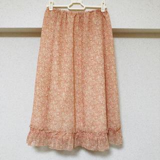 エムケーミッシェルクラン(MK MICHEL KLEIN)のミッシェルクラン スカート 春夏 美品 サイズ M L XL(ひざ丈スカート)
