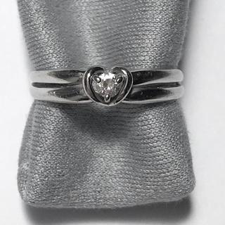 クレージュ(Courreges)のクレージュ k18wg ダイヤリング 0.07ct 2.4g(リング(指輪))