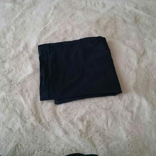ムジルシリョウヒン(MUJI (無印良品))の無印用品 クッションカバーネイビー紺(クッションカバー)