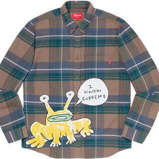 シュプリーム(Supreme)のsupreme Daniel Johnston Plaid Shirt M(シャツ)
