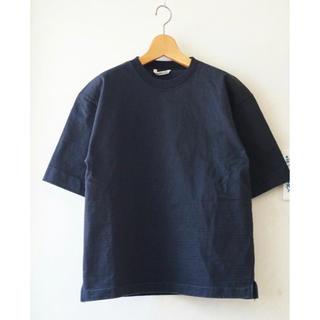 コモリ(COMOLI)のAURALEE オーラリー スタンドアップTシャツ サイズ1(Tシャツ(半袖/袖なし))