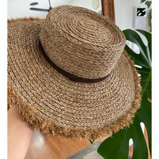 ルームサンマルロクコンテンポラリー(room306 CONTEMPORARY)のroom306 ラフィア帽(麦わら帽子/ストローハット)
