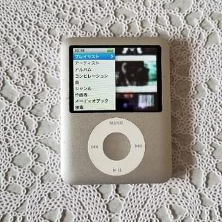 アイポッドタッチ(iPod touch)のiPod シルバー(ポータブルプレーヤー)
