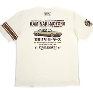 テッドマン(TEDMAN)のカミナリモータース/ソアラ/Tシャツ/白/kmt-137/テッドマン(Tシャツ/カットソー(半袖/袖なし))
