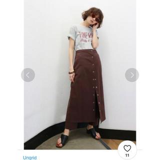 Ungrid - アングリッド ラップスカートコンビパンツ