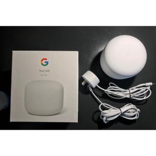 クローム(CHROME)の【送料込】Google Nest Wifi ルーター GA00595-JP(PC周辺機器)