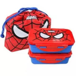 マーベル(MARVEL)のラスト! スパイダーマン 弁当箱 2段 キッズ 子供 男の子 marvel (弁当用品)
