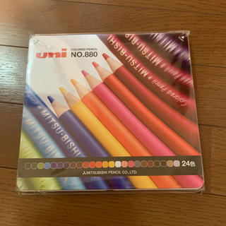 ミツビシ(三菱)の三菱色鉛筆 NO880 24色(色鉛筆)