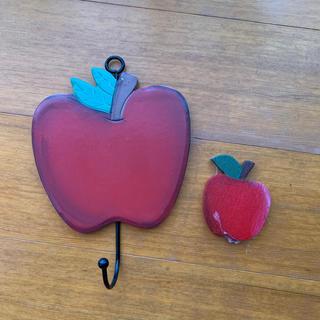 カントリー   りんご 壁掛け セット まとめ売り(置物)
