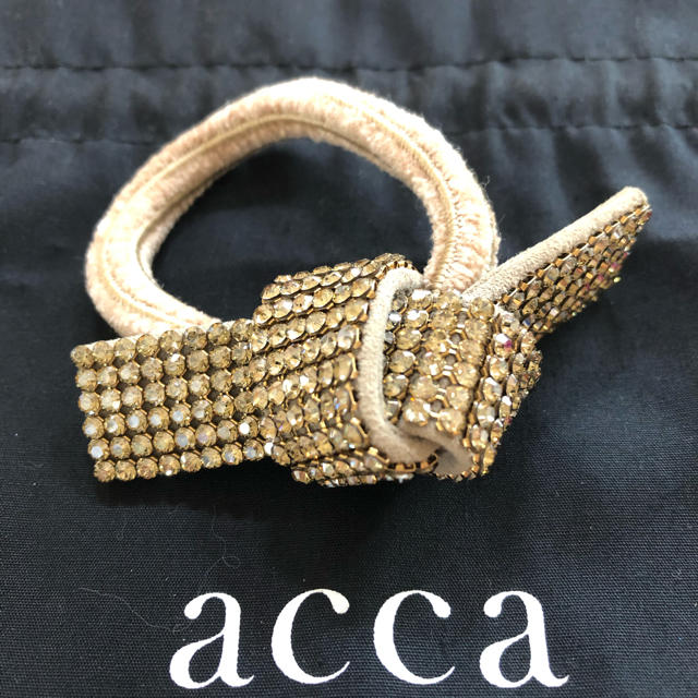 acca(アッカ)のacca   ヘアゴム レディースのヘアアクセサリー(ヘアゴム/シュシュ)の商品写真