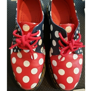ドクターマーチン(Dr.Martens)のドクターマーチン ドット UK3 レア(ローファー/革靴)