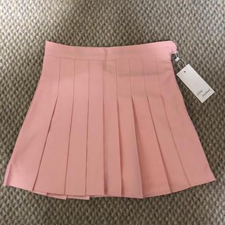 新品 テニススカート プリーツスカート ミニスカート ハイウエスト スカパン(ミニスカート)