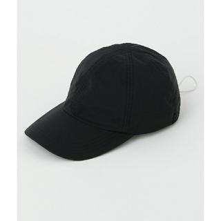 エンフォルド(ENFOLD)の人気のブラック 今季完売 ナゴンスタンス キャップ nagonstans(キャップ)