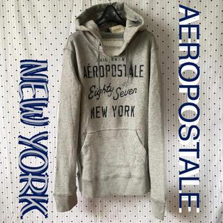 エアロポステール(AEROPOSTALE)のAEROエアロポステールUS限定newyorkカレッジHOODIEプルパーカー(パーカー)
