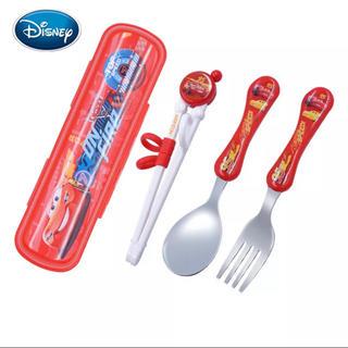ディズニー(Disney)の練習箸 日本未発売(スプーン/フォーク)