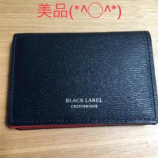 ブラックレーベルクレストブリッジ(BLACK LABEL CRESTBRIDGE)のブラックレーベル クレストブリッジ 財布(折り財布)