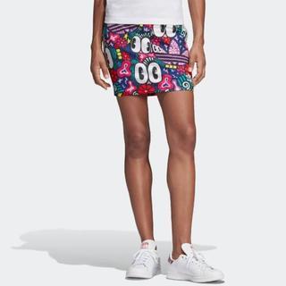 アディダス(adidas)の超人気!アディダス adidas 3ストライプス スカート(ミニスカート)
