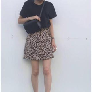snidel - snidel レオパードスカート