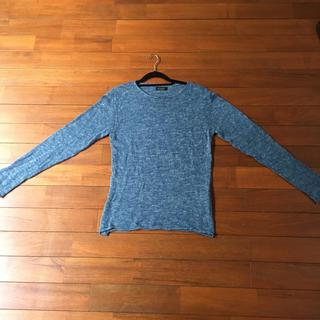 ザラ(ZARA)のZARA MAN 薄手セーター サイズS(ニット/セーター)