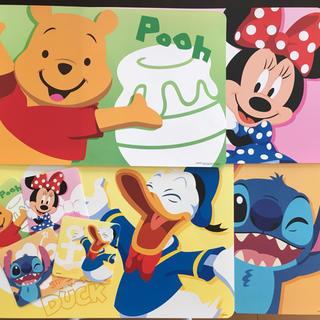 ディズニー(Disney)のディズニー♡ランチシート&コースターセット(テーブル用品)