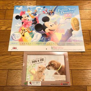 ディズニー(Disney)のカレンダー 2020  壁掛け 卓上(カレンダー/スケジュール)
