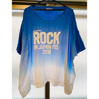 ロッキン2018 公式Tシャツ(音楽フェス)