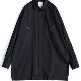 SHAREEF - 「嵐 相葉さん着用」シャリーフ SHAREEF ブラックシャツ 黒シャツ