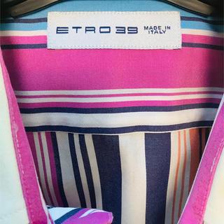 エトロ(ETRO)のエトロ ストライプシャツ(シャツ)