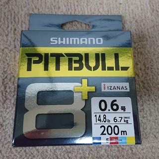 シマノ  PEライン  ピットブル8+  0,6号200m  5カラー