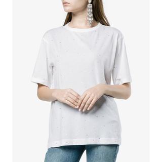ドリスヴァンノッテン(DRIES VAN NOTEN)のドリスヴァンノッテン ビジュー付きカットソー Tシャツ(Tシャツ(半袖/袖なし))